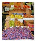 Market At Bensonhurst Brooklyn Ny 10 Fleece Blanket