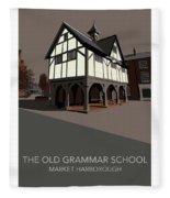 Market Harborough Grammar School Fleece Blanket