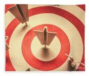 Marketing Your Target Market Fleece Blanket