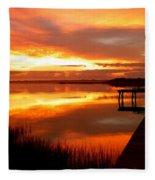 Marmalade Skies Fleece Blanket