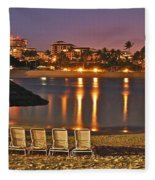 Marriott Lagoon Fleece Blanket
