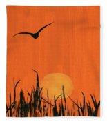 Marsh Home Fleece Blanket