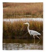 Marsh Wader Fleece Blanket