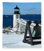Marshall Point Snow Fleece Blanket