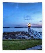 Marshall Point View Fleece Blanket