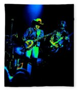Marshall Tucker Winterland 1975 #12 Enhanced In Cosmicolors #2 Fleece Blanket