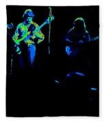 Marshall Tucker Winterland 1975 #18 Enhanced In Cosmicolors Fleece Blanket
