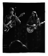 Marshall Tucker Winterland 1975 #36 Enhanced Bw Fleece Blanket