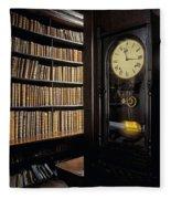 Marshs Library, Dublin City, Ireland Fleece Blanket