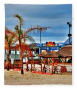 Martells On The Beach - Jersey Shore Fleece Blanket