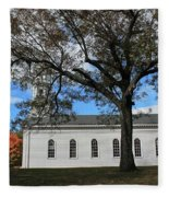 Martha Mary Chapel In Sudbury Ma 2 Fleece Blanket