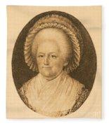 Martha Washington, American Patriot Fleece Blanket