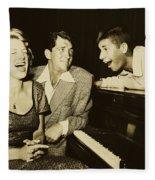 Martin, Lewis, And Clooney Fleece Blanket