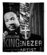 Martin Luther King Day Fleece Blanket