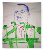 Martin Luther King Fleece Blanket