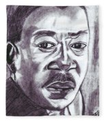 Martin Luther King Fleece Blanket
