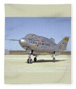 Martin Marietta X 24a Experimental Us Aircraft  Fleece Blanket