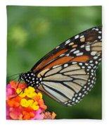 Marvelous Monarch  Fleece Blanket