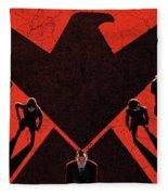 Marvel's Agents Of S.h.i.e.l.d. Fleece Blanket