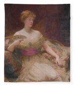 Mary Frances Mackenzie Fleece Blanket