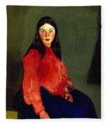 Mary Of Connemara 1913 Fleece Blanket