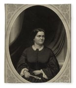 Mary Todd Lincoln, First Lady Fleece Blanket