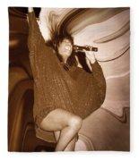Mary Wilson Of The Supremes... Fleece Blanket