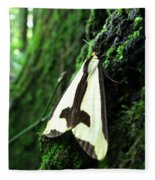 Maryland Clymene Moth Fleece Blanket