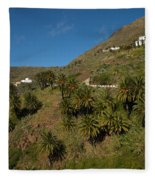 Masca Valley And Parque Rural De Teno 3 Fleece Blanket