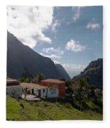 Masca Valley And Parque Rural De Teno 4 Fleece Blanket