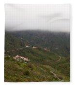 Masca Valley And Parque Rural De Teno 7 Fleece Blanket