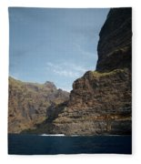 Masca Valley Entrance 1 Fleece Blanket