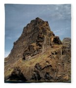 Masca Valley Entrance 3 Fleece Blanket