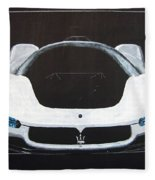 Maserati Birdcage 75th Concept Fleece Blanket