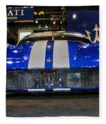 Maserati Racer Fleece Blanket