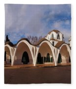 Masia Freixa, Terrassa, Spain Fleece Blanket