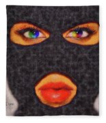 Mask Fleece Blanket
