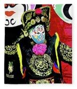 Masked Magician Fleece Blanket