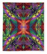 Masqparade Tapestry 7f Fleece Blanket