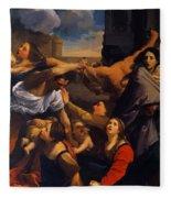 Massacre Of The Innocents 1611 Fleece Blanket