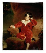 Master Charles William Lambton Fleece Blanket