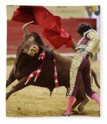 Matador Jose Tomas I Fleece Blanket