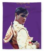 Spanish Matador Fleece Blanket