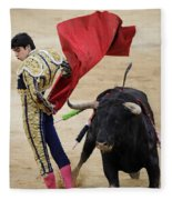 Matador Miguel Angel Perera IIi Fleece Blanket