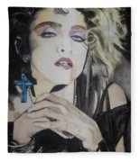 Material Girl Fleece Blanket