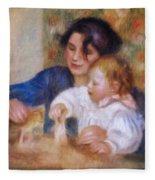 Maternal Love Fleece Blanket