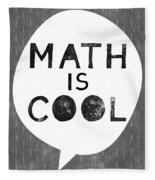 Math Is Cool- Art By Linda Woods Fleece Blanket