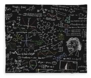 Maths Formula Fleece Blanket