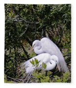 Mating Season Fleece Blanket