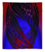 Matryoshka Doll Fleece Blanket